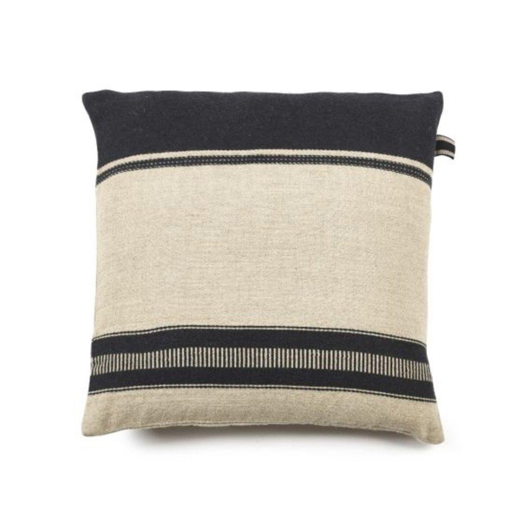 "Libeco Libeco Marshall Multi Stripe 25"" Pillow"