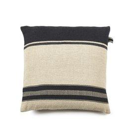 "Libeco Marshall Multi Stripe Pillow 25x25"""