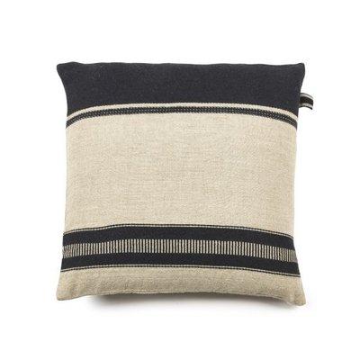 "Libeco Marshall Multi Stripe 25"" Pillow"