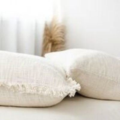 "Cloth & Co. Khadi 22"" Pillow"