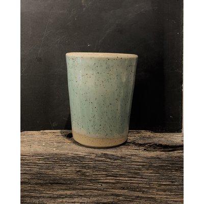 Doghouse Pottery Doghouse Pottery Blue Glaze Tumbler