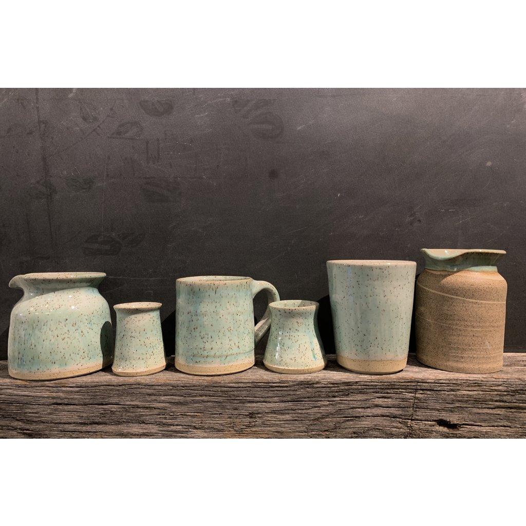 Doghouse Pottery Doghouse Pottery Blue Glaze Pourer