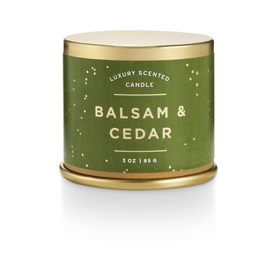 Illume Demi Tin Holiday Candle