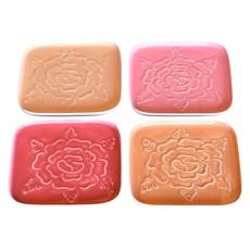 Slate Embossed Rose Coasters