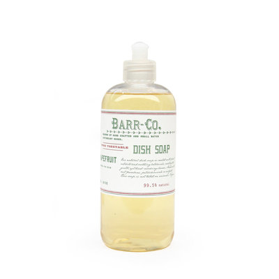 Barr Co Fir & Grapefruit Dish Soap
