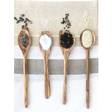 Slate Olive Wood Spoons (Set of 4)