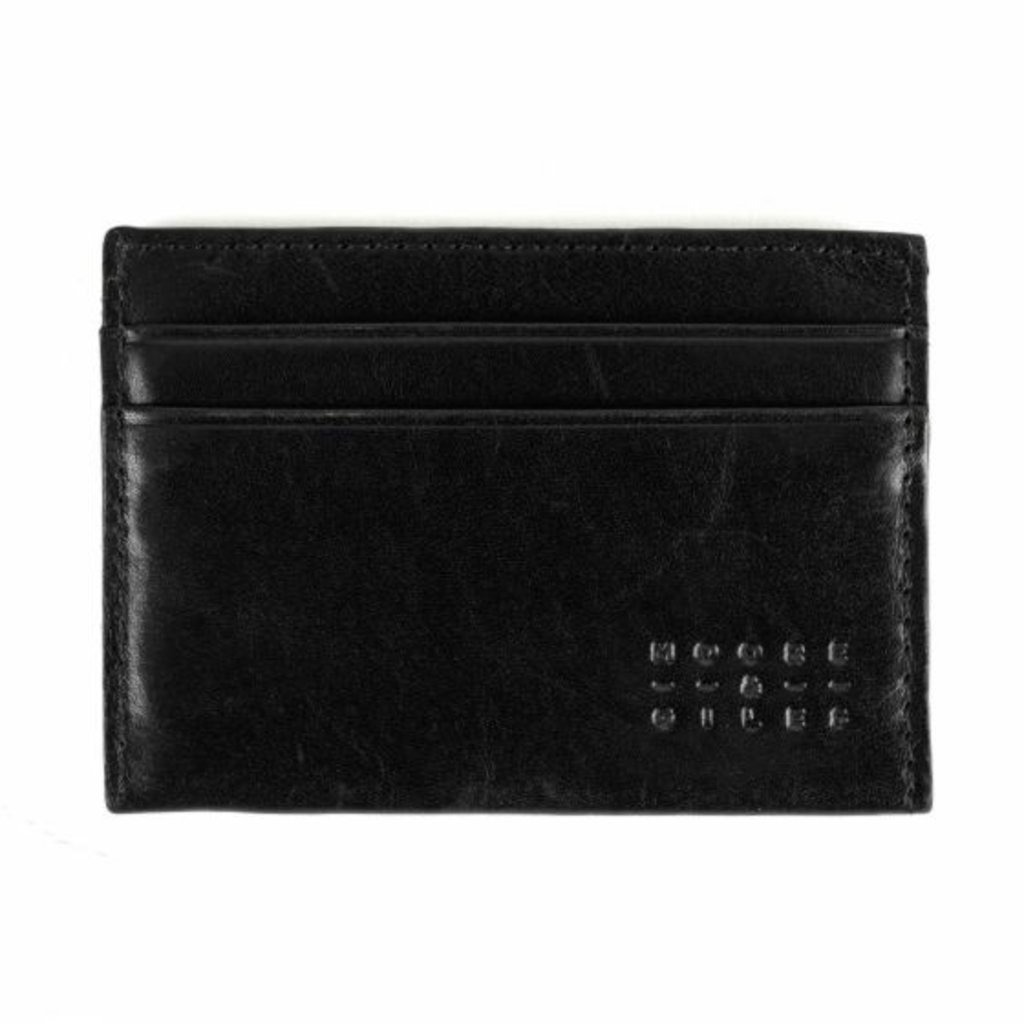Moore and Giles Leather License Wallet