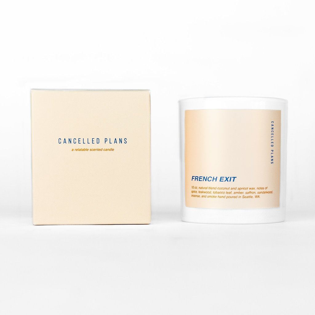 "Cancelled Plans ""Cancelled Plans"" Candle"