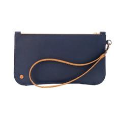 Brooklyn Leather Clutch
