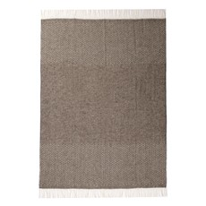 Slate Woven Wool and Alpaca Throw
