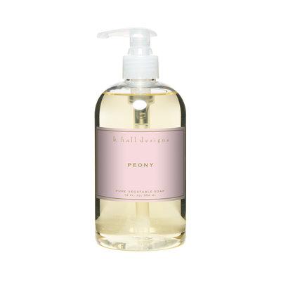 K Hall Peony Liquid Hand Soap