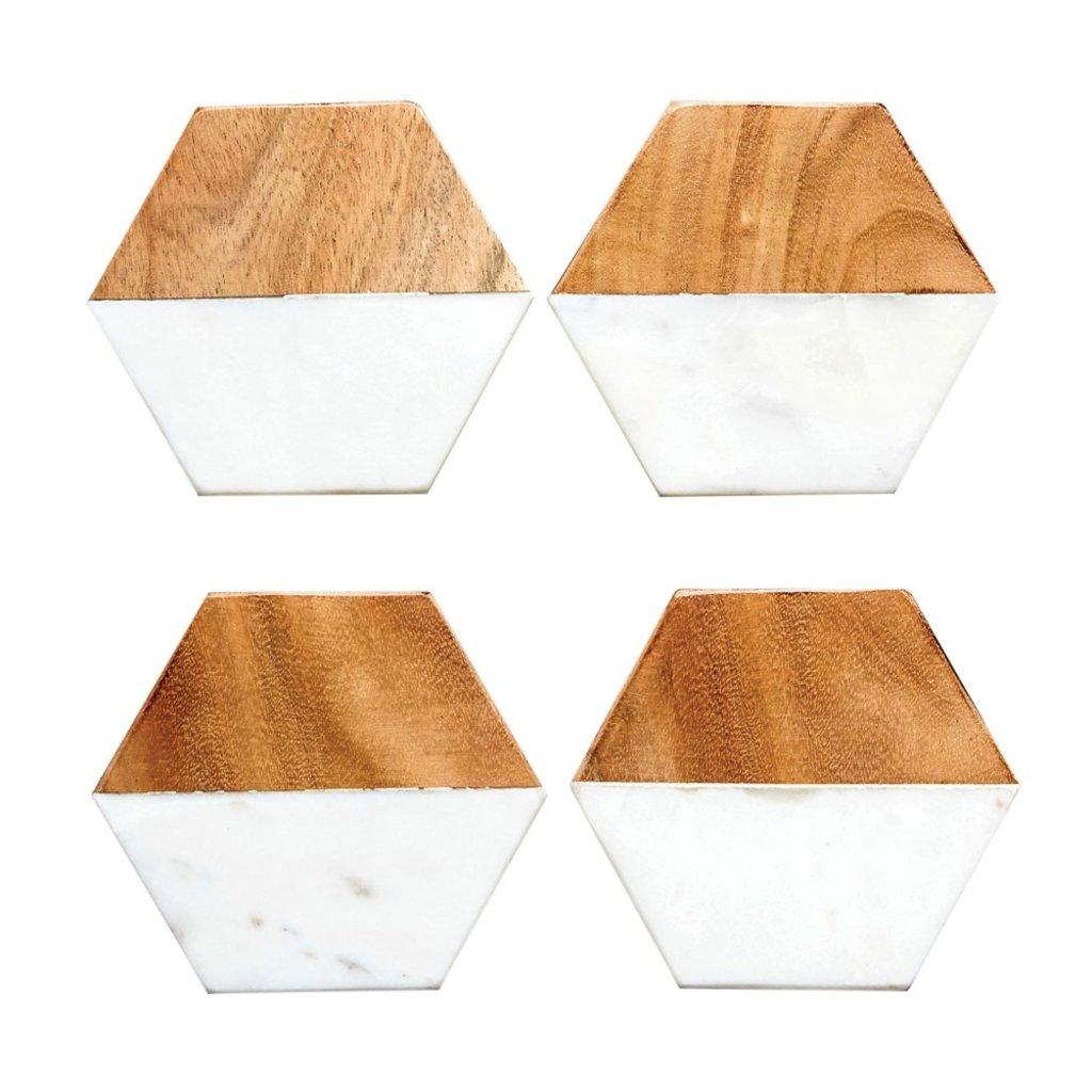 Slate Hexagon Coasters