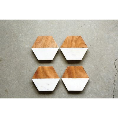 Slate Hexagon Coasters