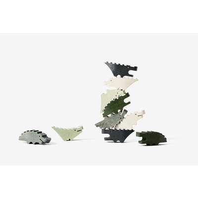 areaware Croc Pile Mini (Set of 10)