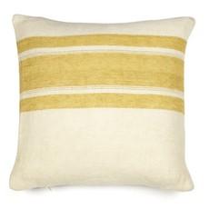 "Libeco Libeco Mustard Stripe 20"" Pillow"