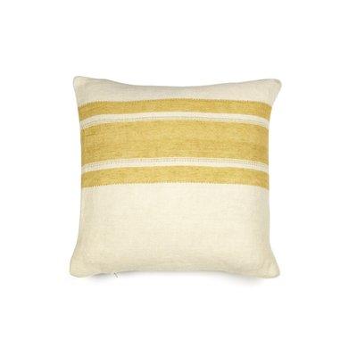 Libeco Belgian Mustard Stripe Pillow