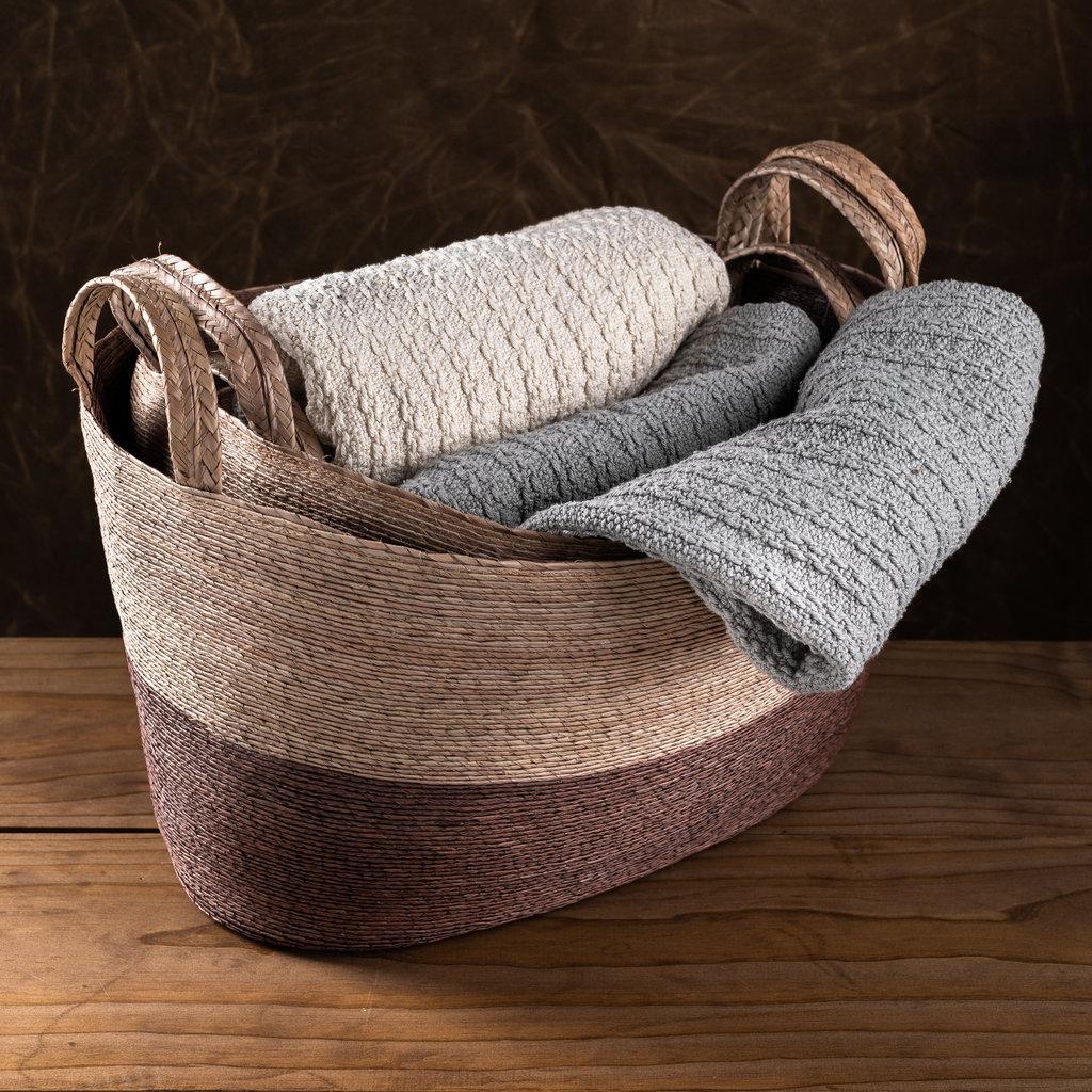 Oval Floor Basket