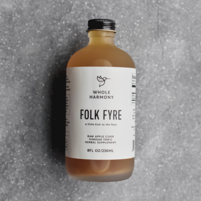 Whole Harmony Folk Fyre Artisan Tonic 8 oz.