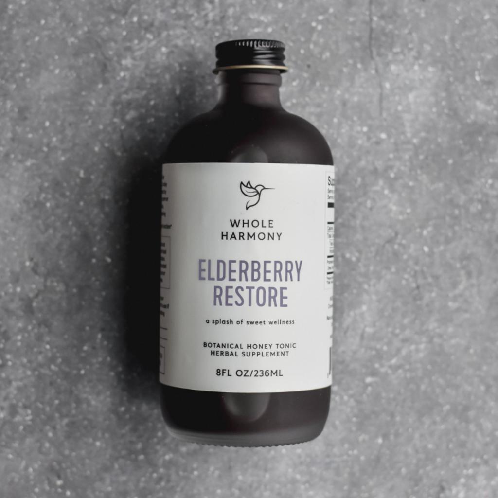 Whole Harmony Artisan Elderberry Tonic