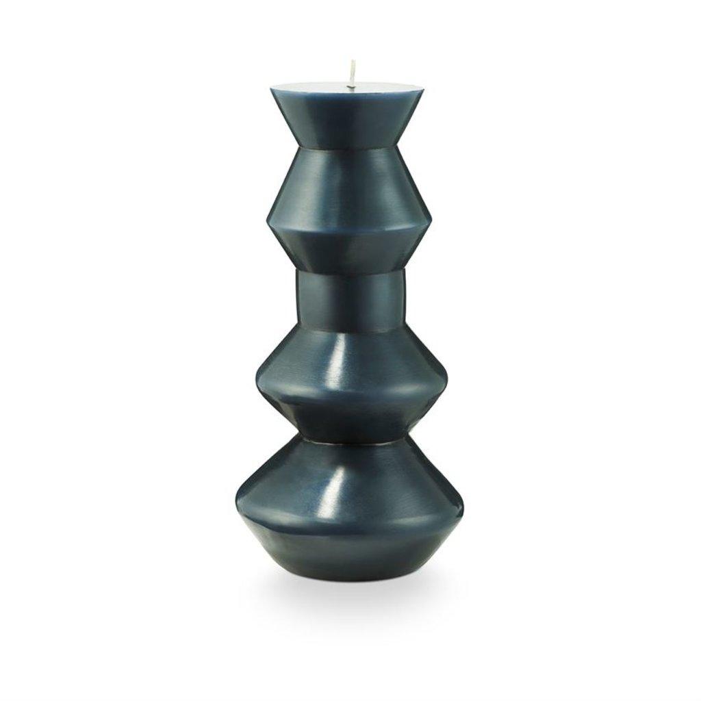 Illume Geo Pillar Candle