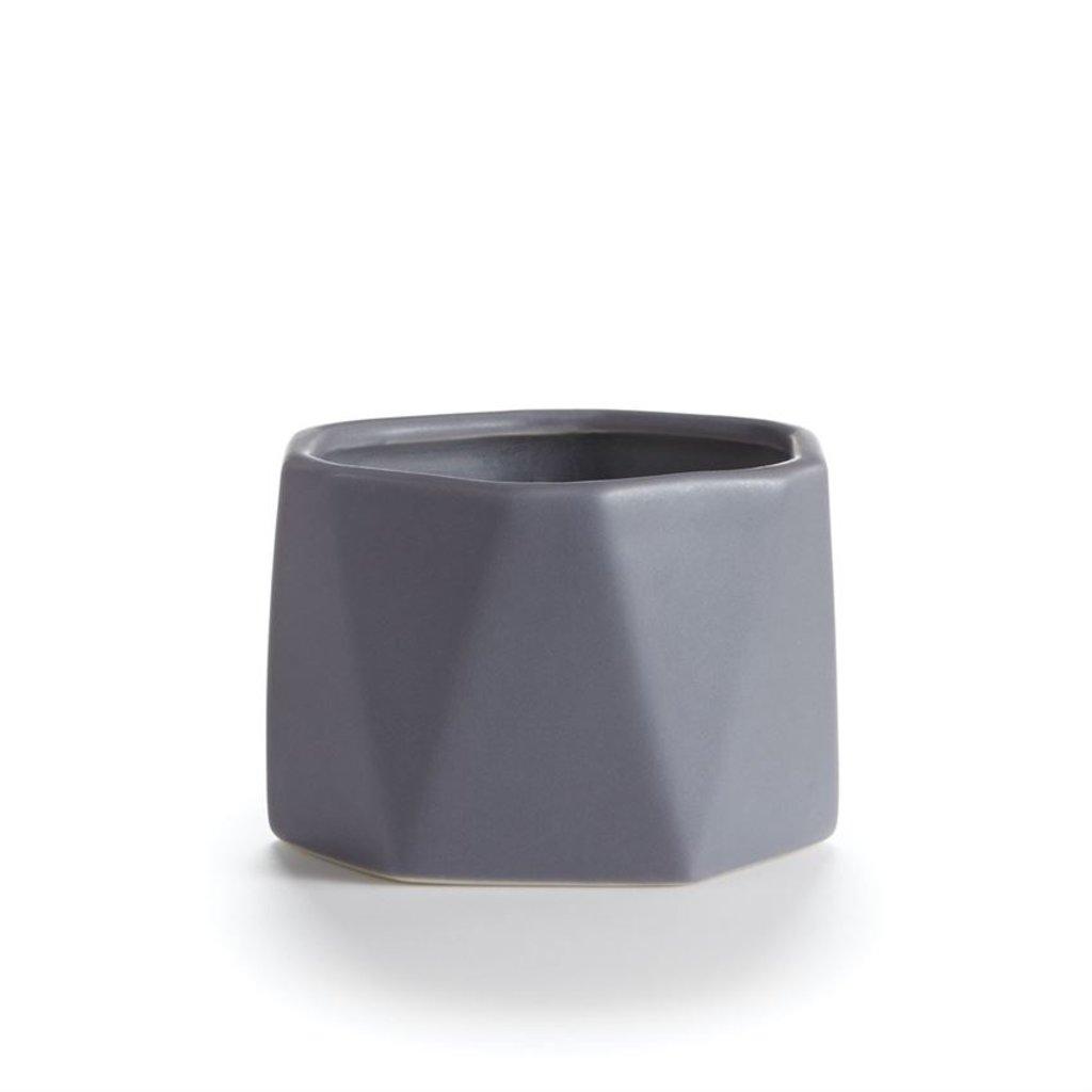 Geo Ceramic Candle