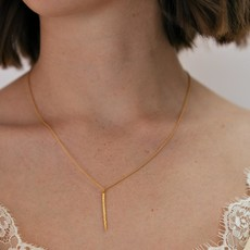 Diamond Dusted Spike Necklace