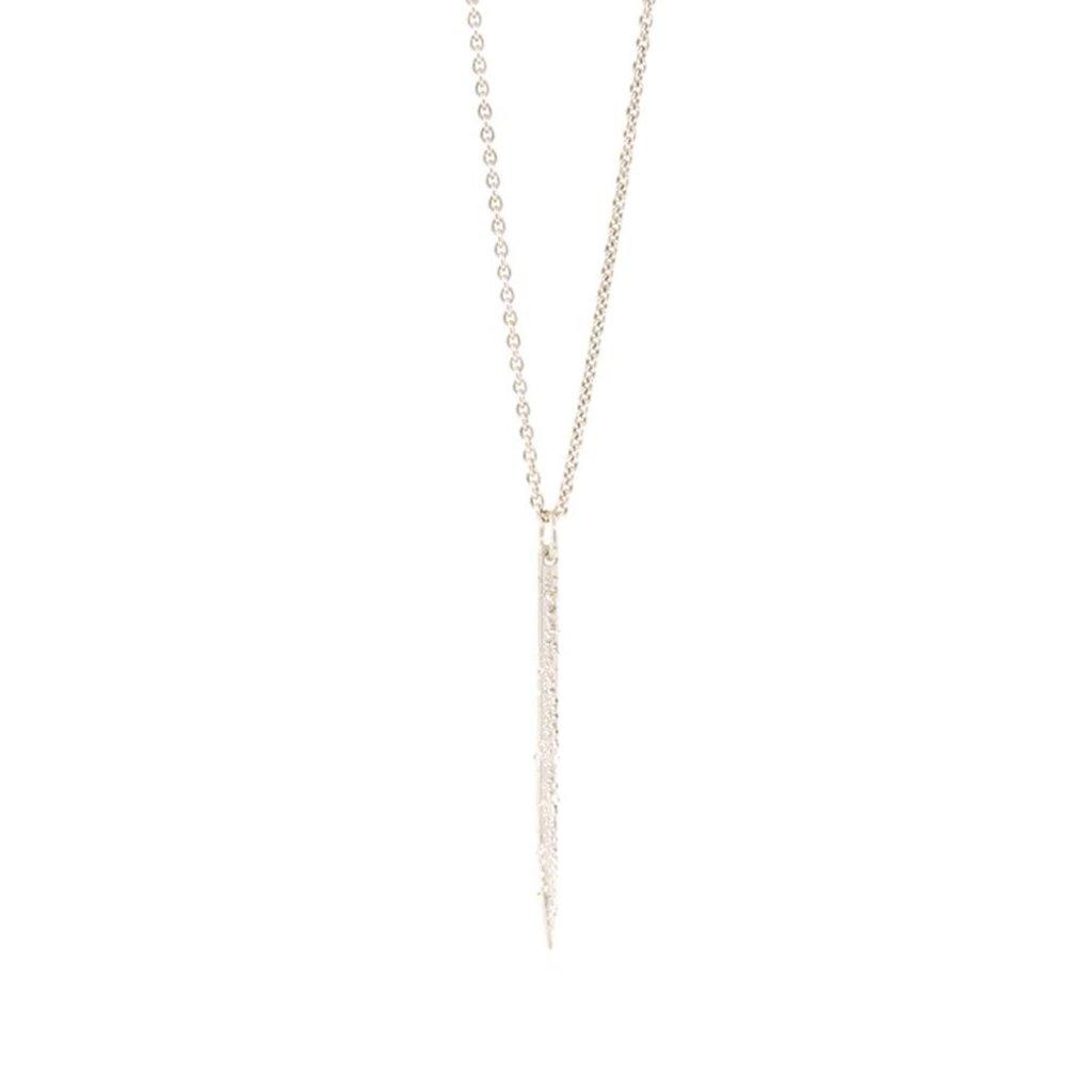 Christina Kober Designs Diamond Dusted Spike Necklace