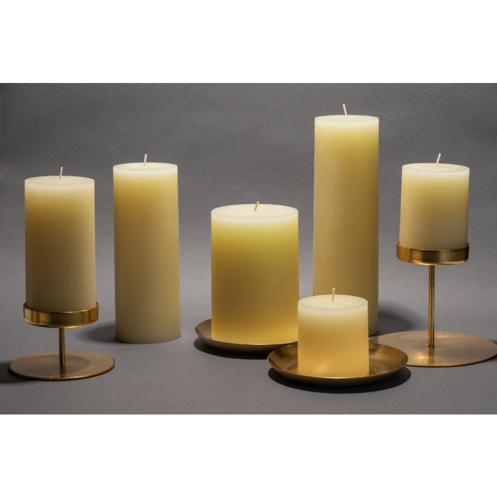 Slate Ivory Pillar Candle