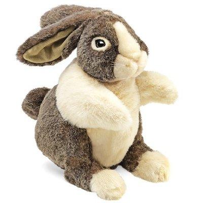 Slate Dutch Rabbit Puppet