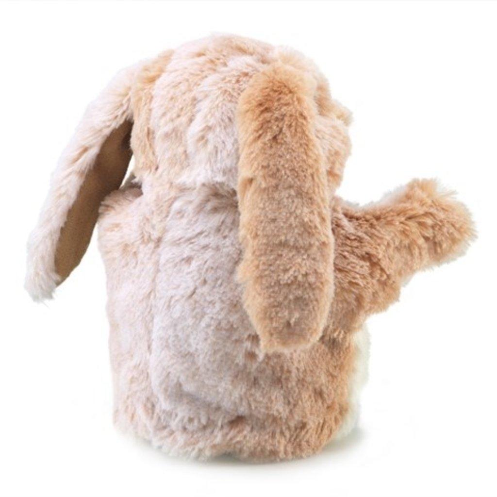 Slate Little Lop Rabbit Puppet
