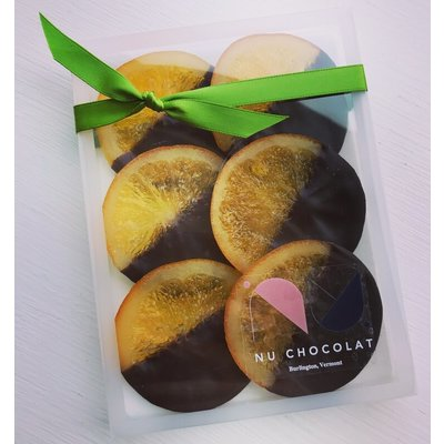 Nu Chocolat Orange Slices (Box of 6)