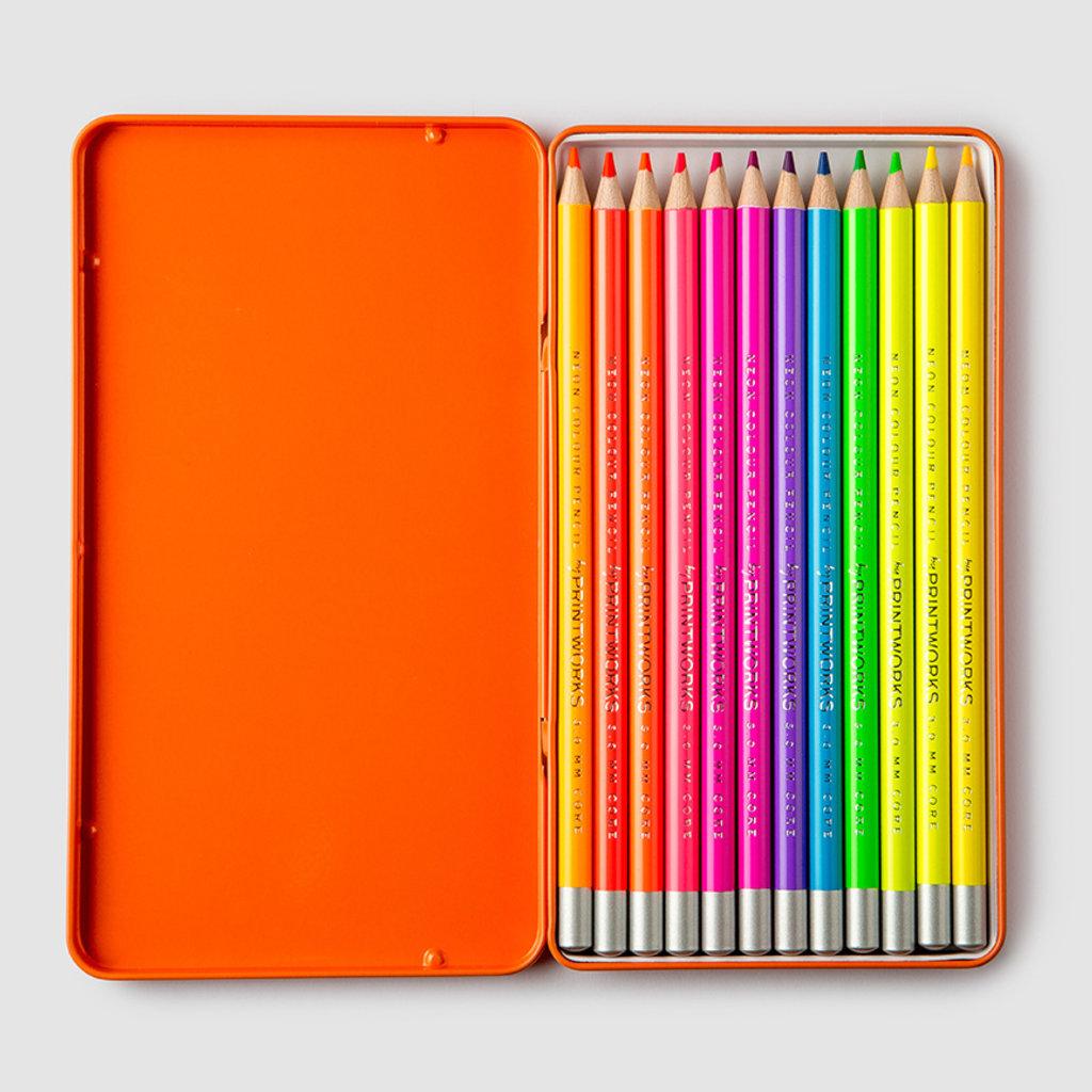 Neon Colored Pencils