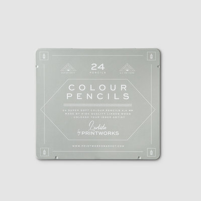 Colored Pencils (Set of 24)
