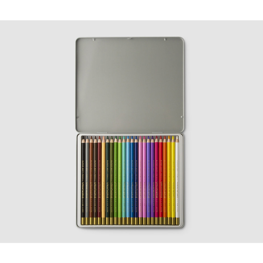 Slate Colored Pencils (Set of 24)