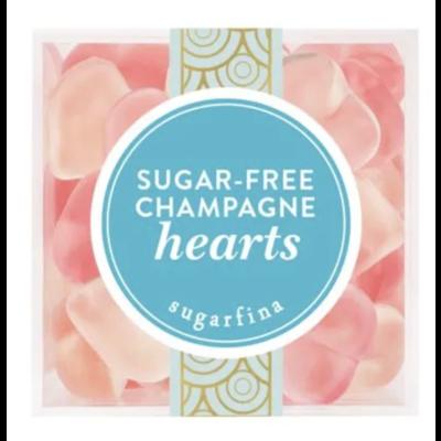 Sugar Free Champagne Hearts