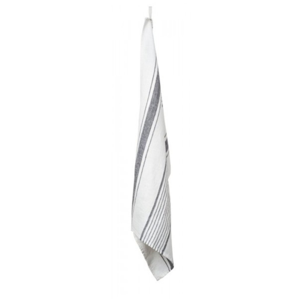Harmony Striped Linen Dish Towel