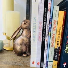 Individual Resin Bunny Bookend