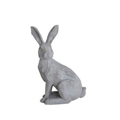 Slate Cement Rabbit