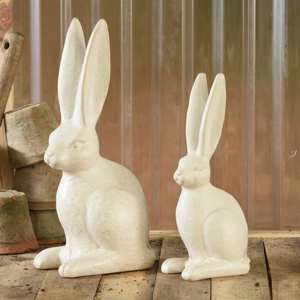 Ceramic Seated Hare