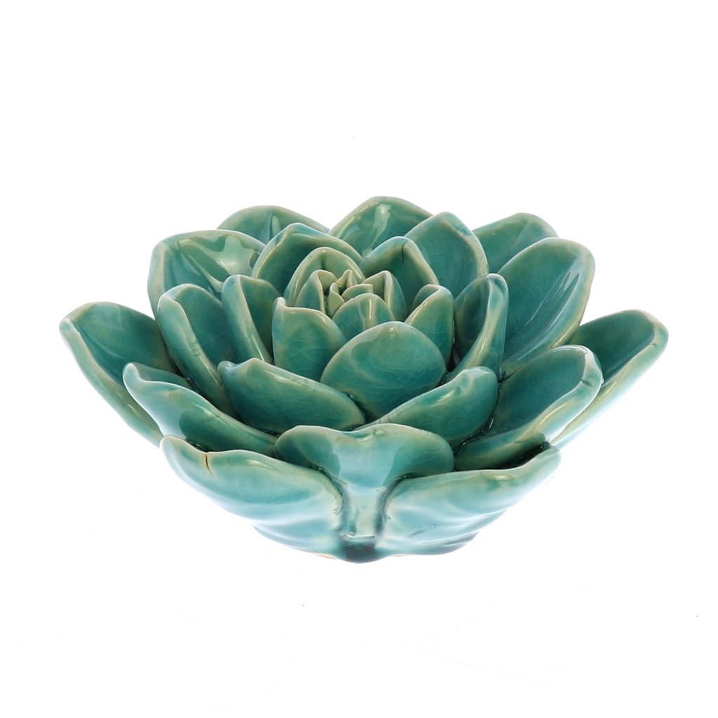 Slate Decorative Ceramic Succulent