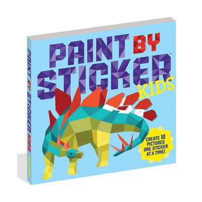 Slate Paint by Sticker Kids Book
