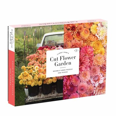 Slate Floret Farm's 500-piece double sided puzzle
