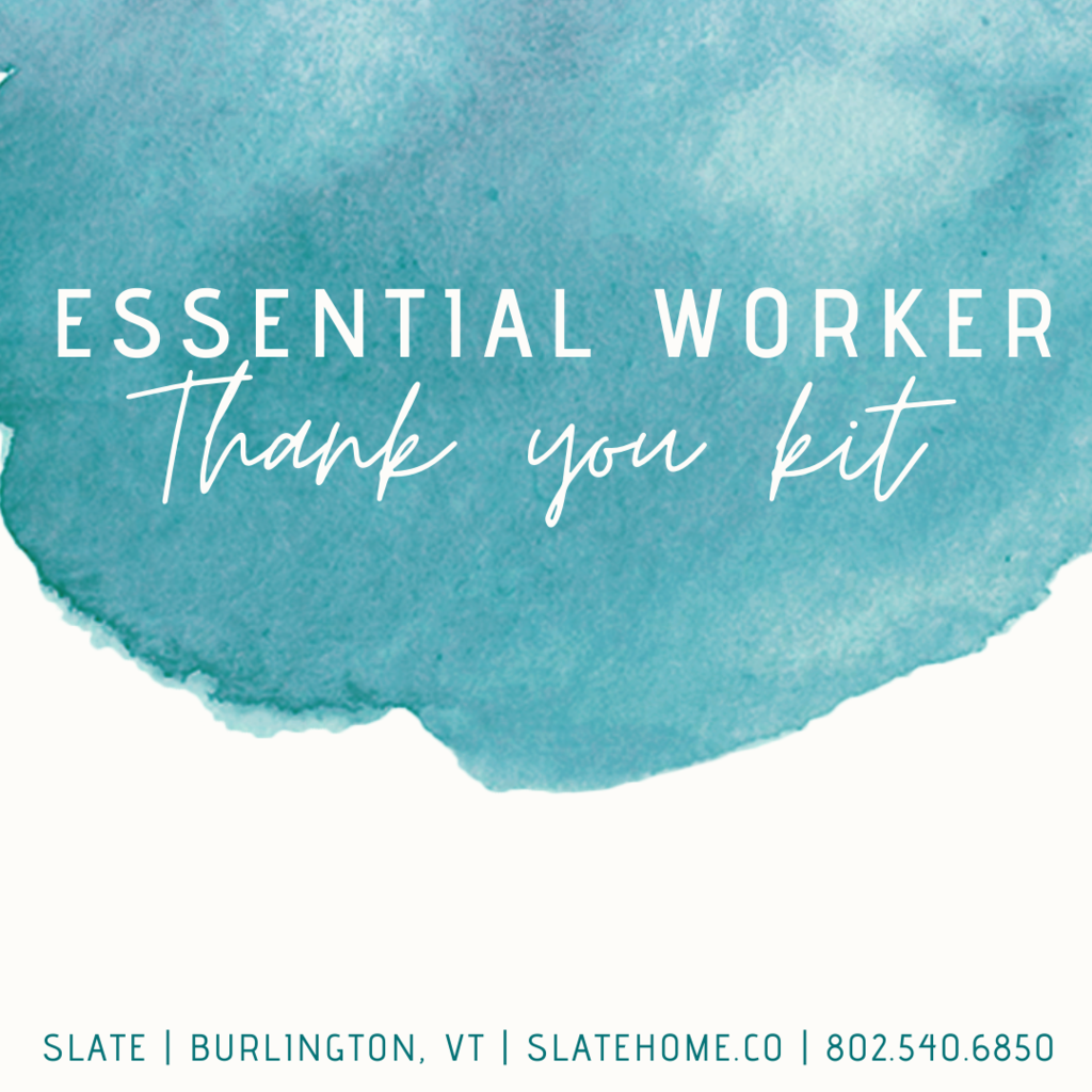 Slate Essential Worker Thank You Kit