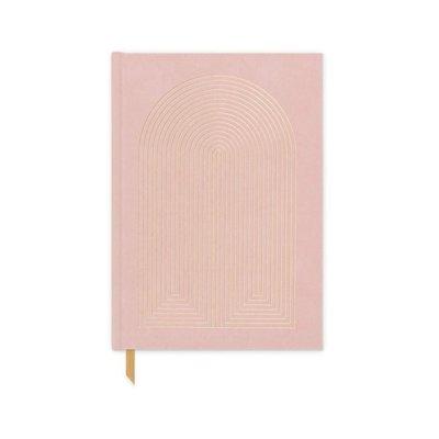Slate Hardcover Suede Journal