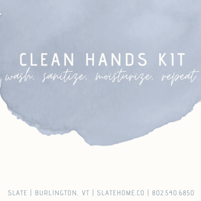 Slate Clean Hands Kit