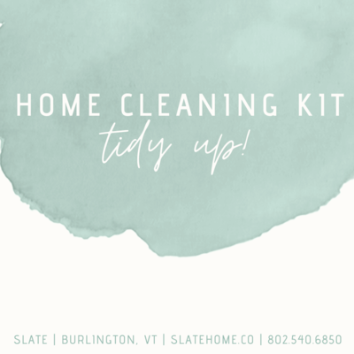 Slate Home Cleaning Kit