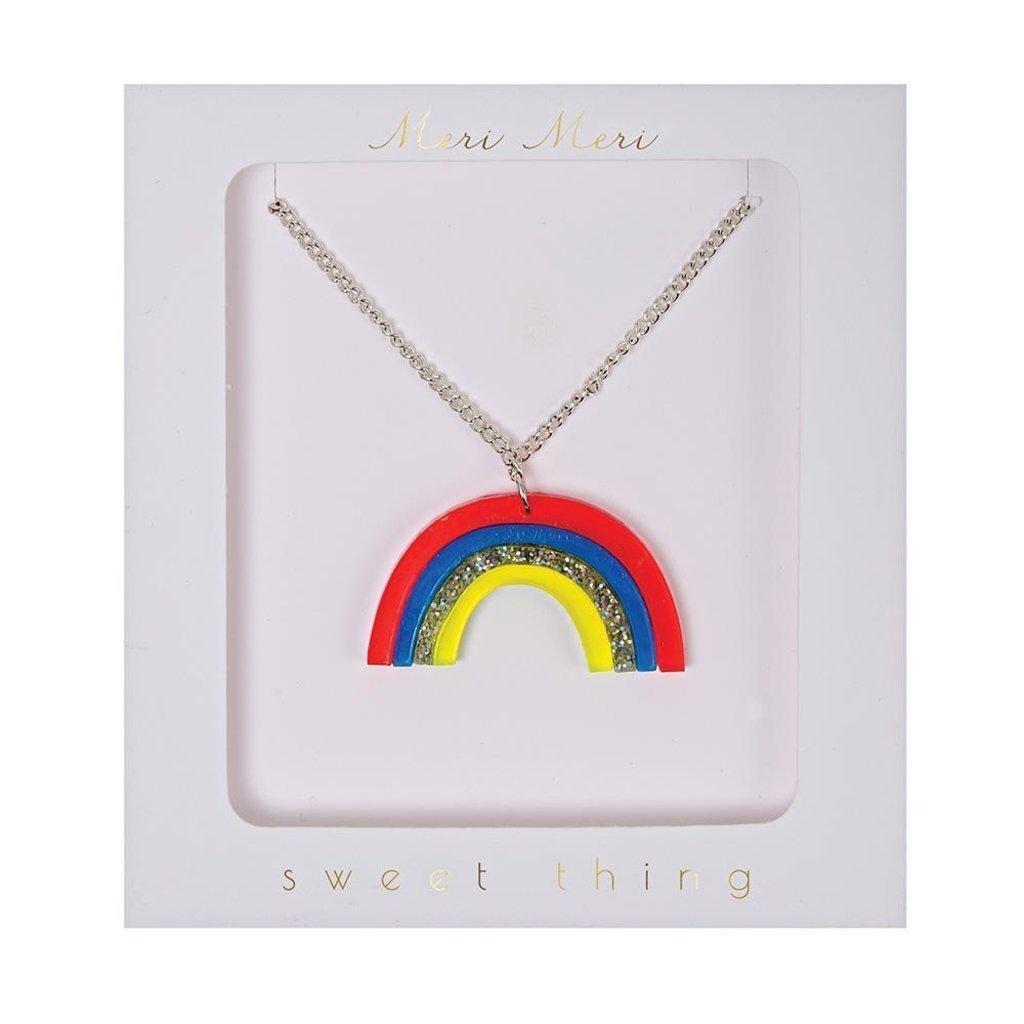 Slate Rainbow Necklace