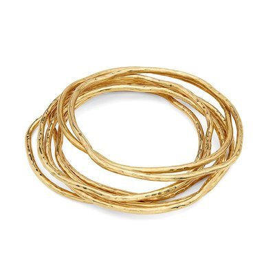 Slate Nyundo Stacking Bracelets