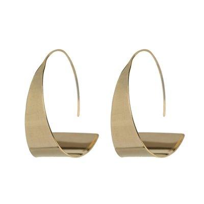 Slate Zuri Threader Earrings