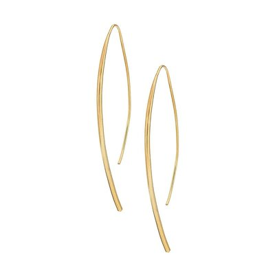 Slate Bow Earrings